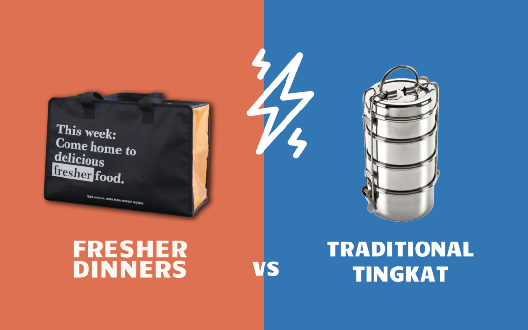 Fresher Dinners vs. Traditional Tingkat Delivery